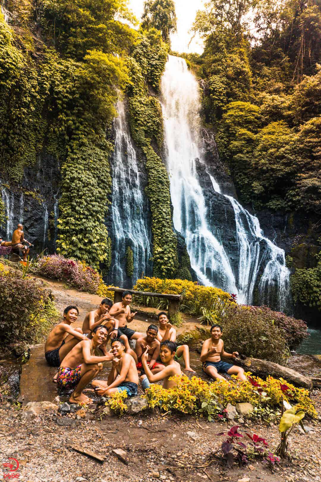 آبشار دوقلو بنیموالا بالی