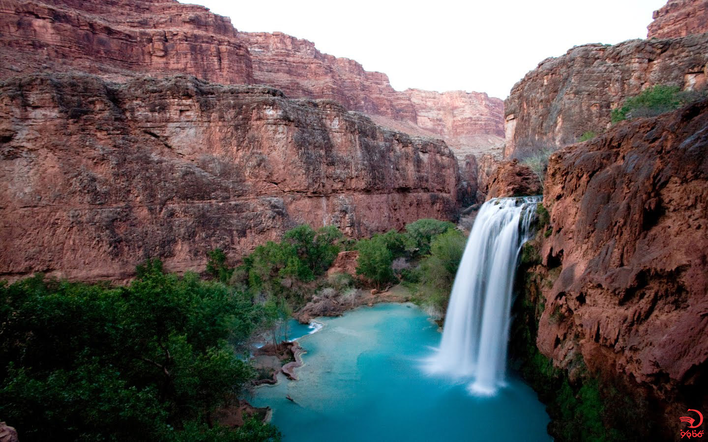 آشنایی با آبشار هاواسو، گرند کانیون، آریزونا، آمریکا