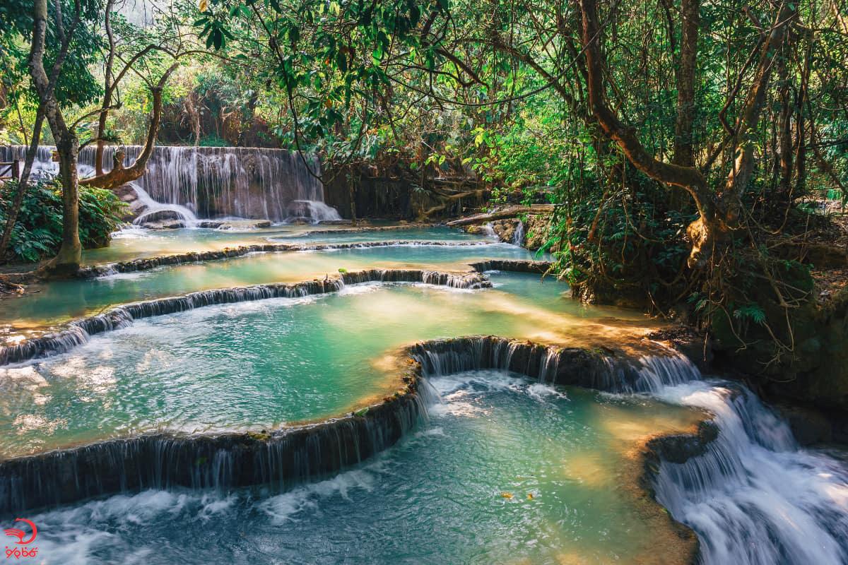 آشنایی با آبشار کوانگ سی، لوآنگ پرابانگ، لائوس