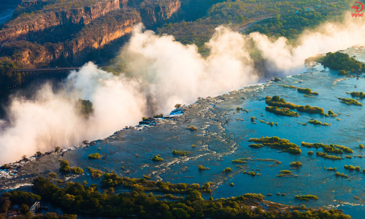 آشنایی با استخر شیطان، آبشار ویکتوریا، زامبیا