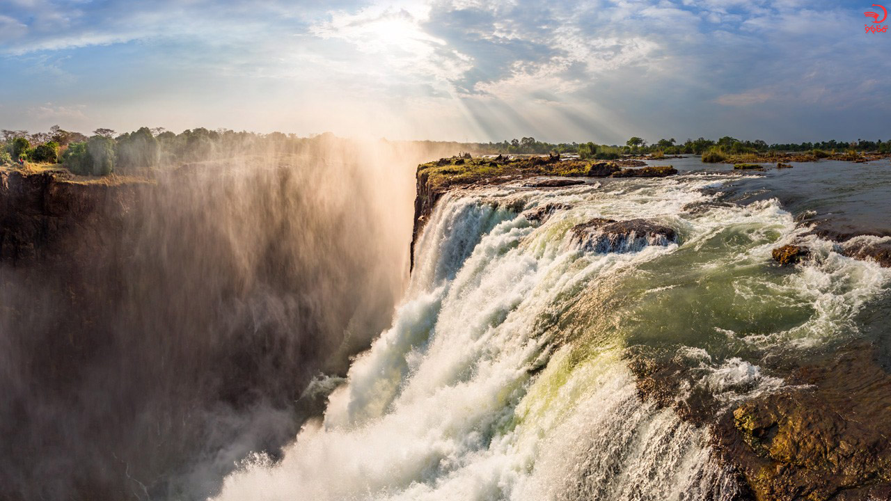 استخر شیطان، آبشار ویکتوریا، زامبیا