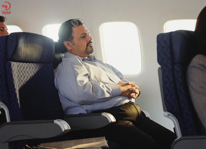 اضافه وزن بیش از حد از دلایل اخراج از هواپیما