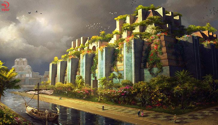 باغهای معلق بابل، عراق