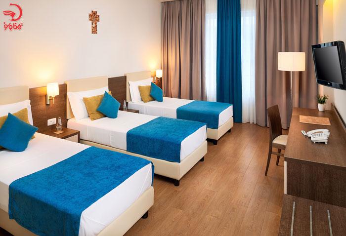 اتاق تریپل در هتل