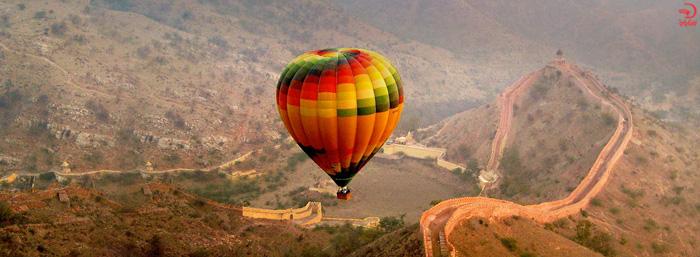 بالن سواری در جیپور هند