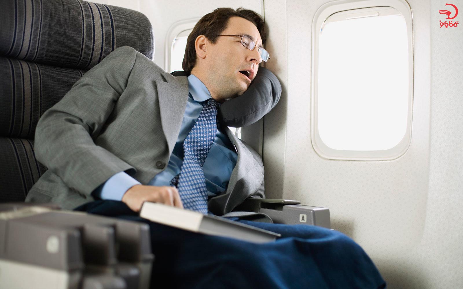 معاشرت در هواپیما