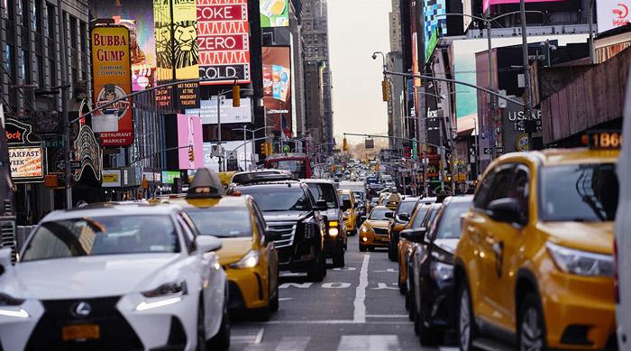 بوق زدن در خیابان های شلوغ نیویورک ممنوع