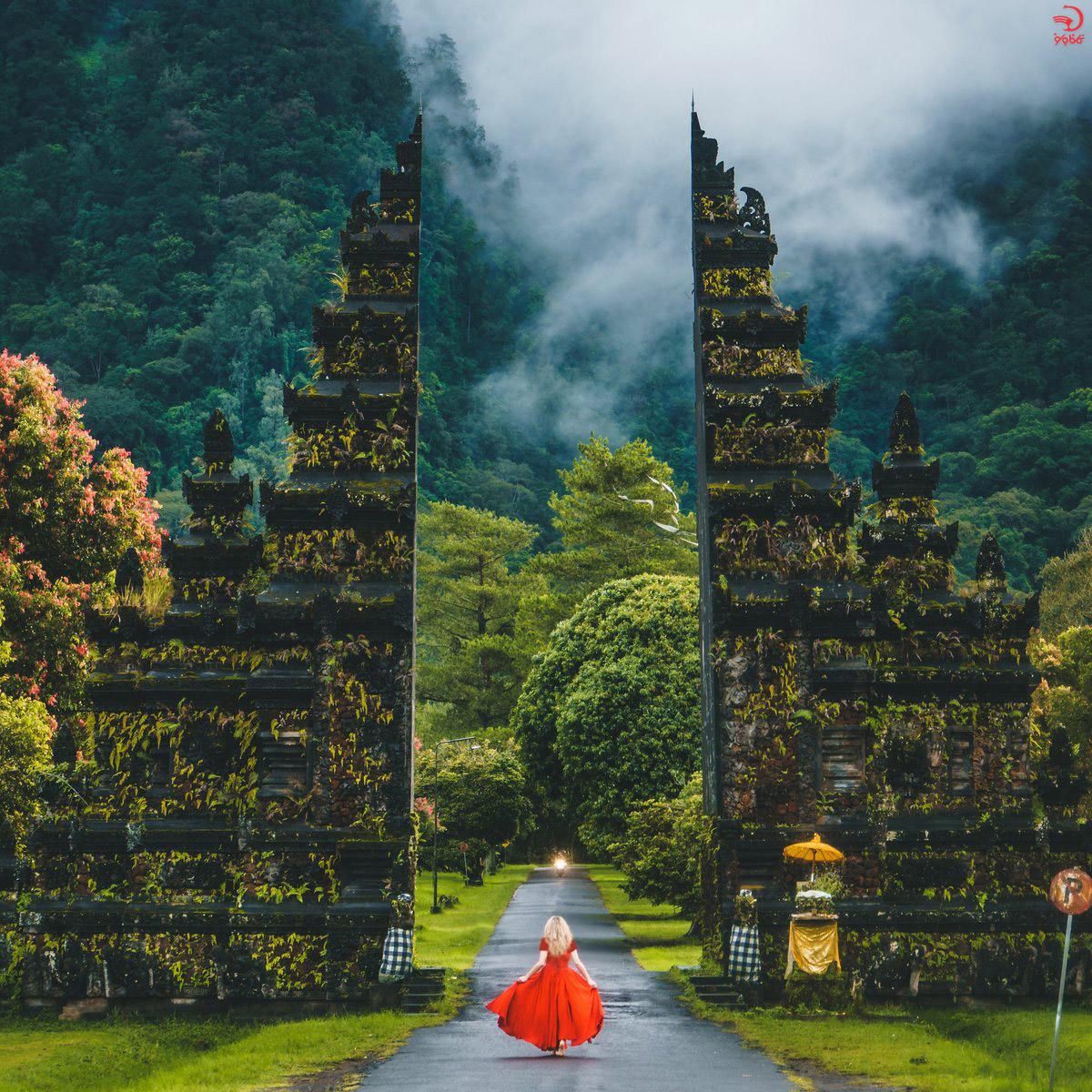 دروازه مسیر هندارا گلف بالی