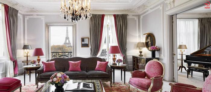 رویال سوئیت، هتل پلازا آتنی، پاریس