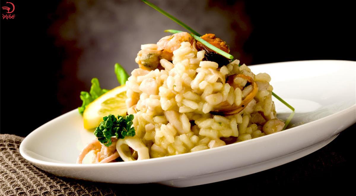 ریزوتو یکی از غذاهای ایتالیایی