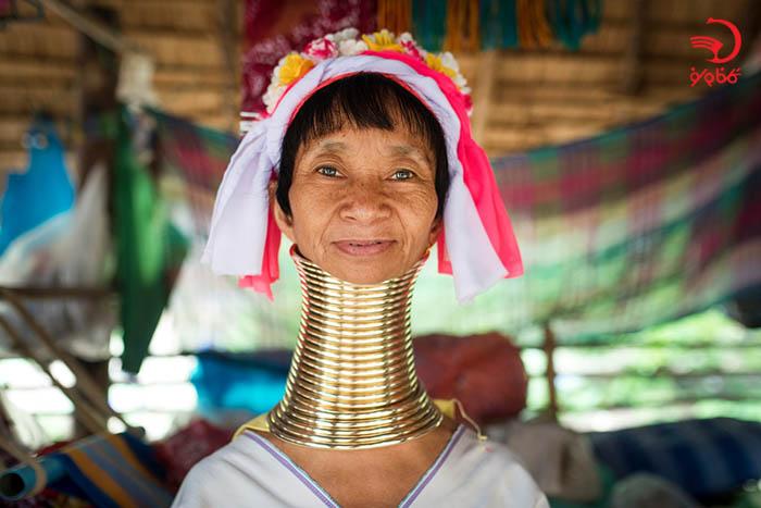 زنان گردن دراز در تایلند