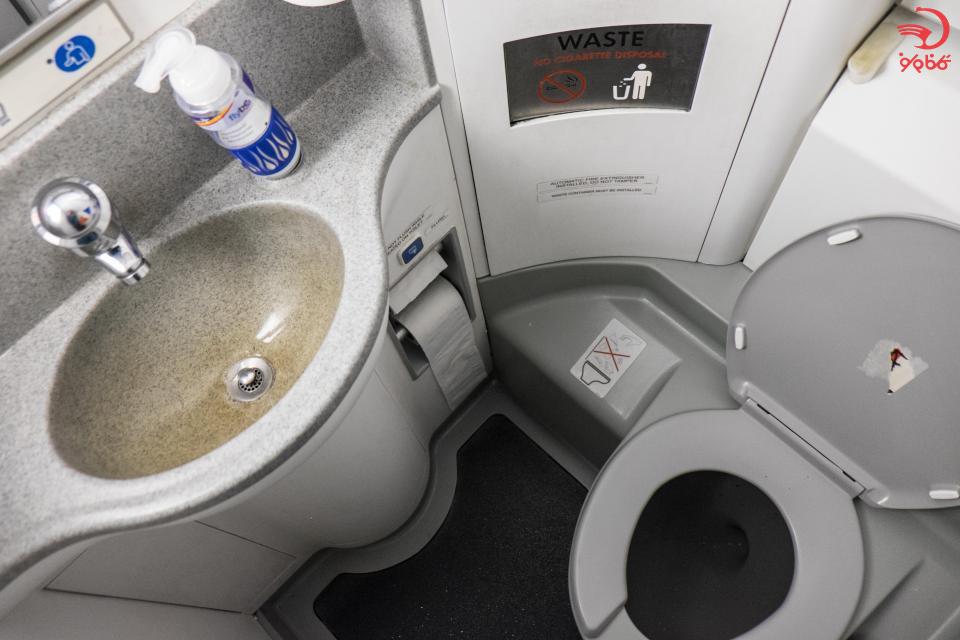 کثیف ترین بخش های هواپیما کجاست