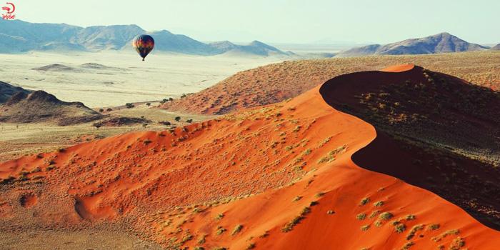 بالن سواری در صحرای نامیب، نامیبیا