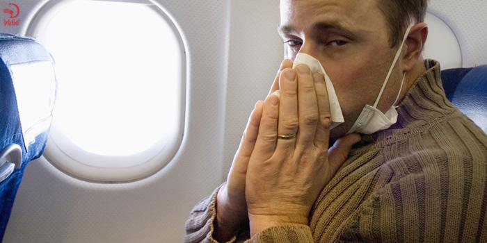 ظاهر بیش از حد مریض از دلایل اخراج از هواپیما