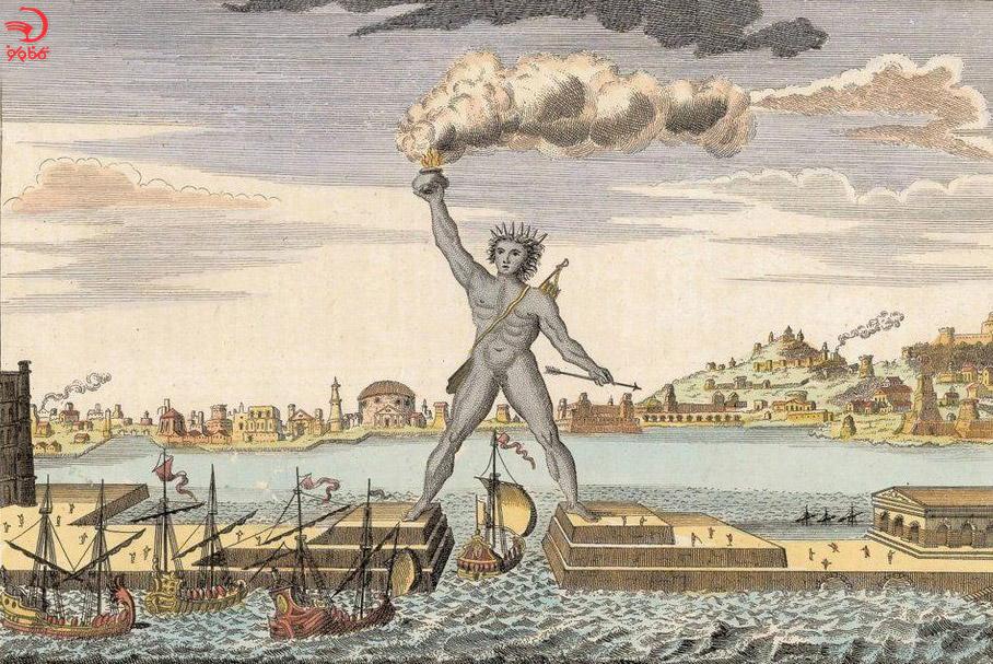 غول رودس، یونان باستان