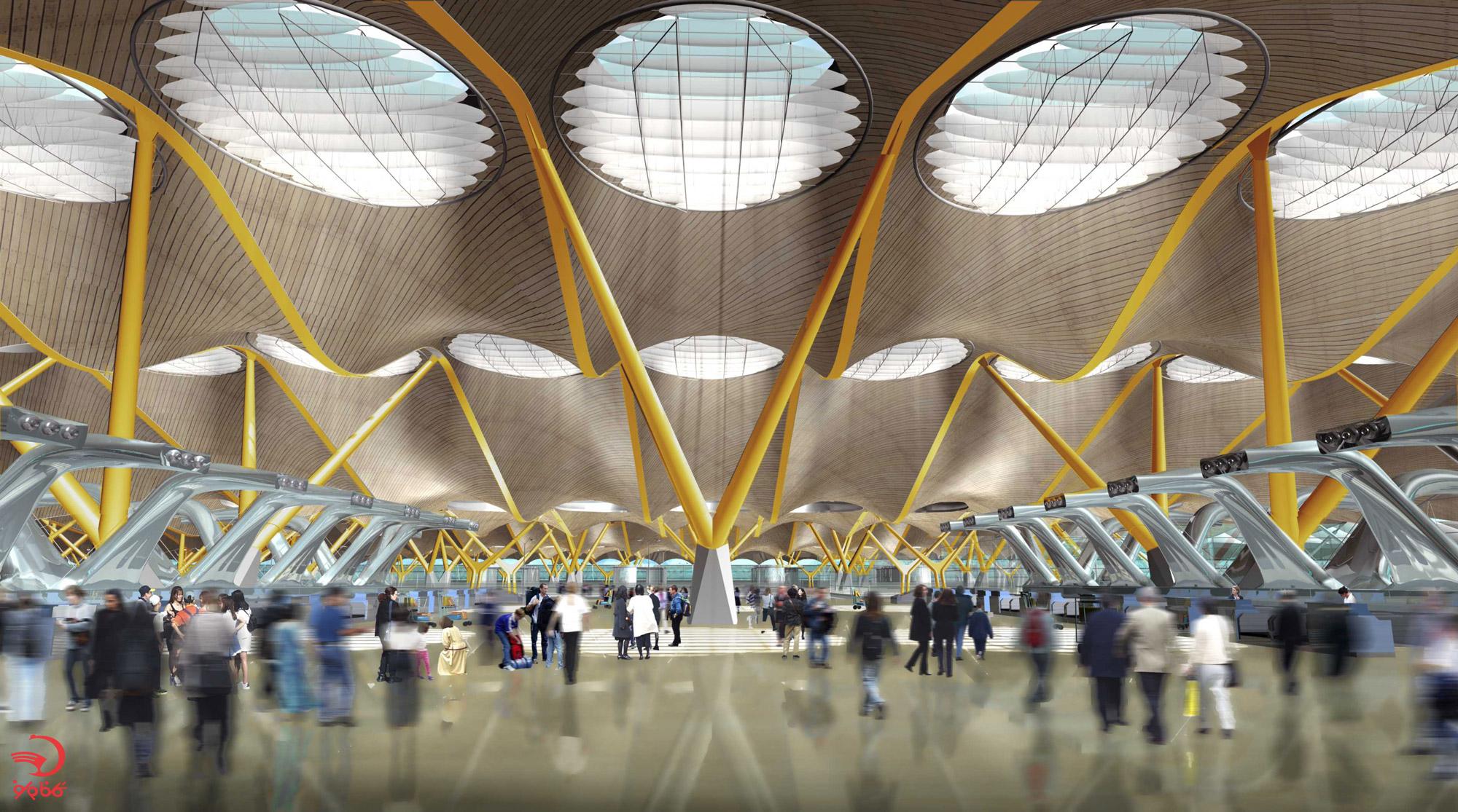آشنایی با زیباترین فرودگاه های دنیا