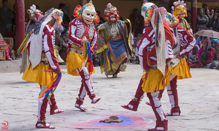 فستیوال همیس، لداخ، هند