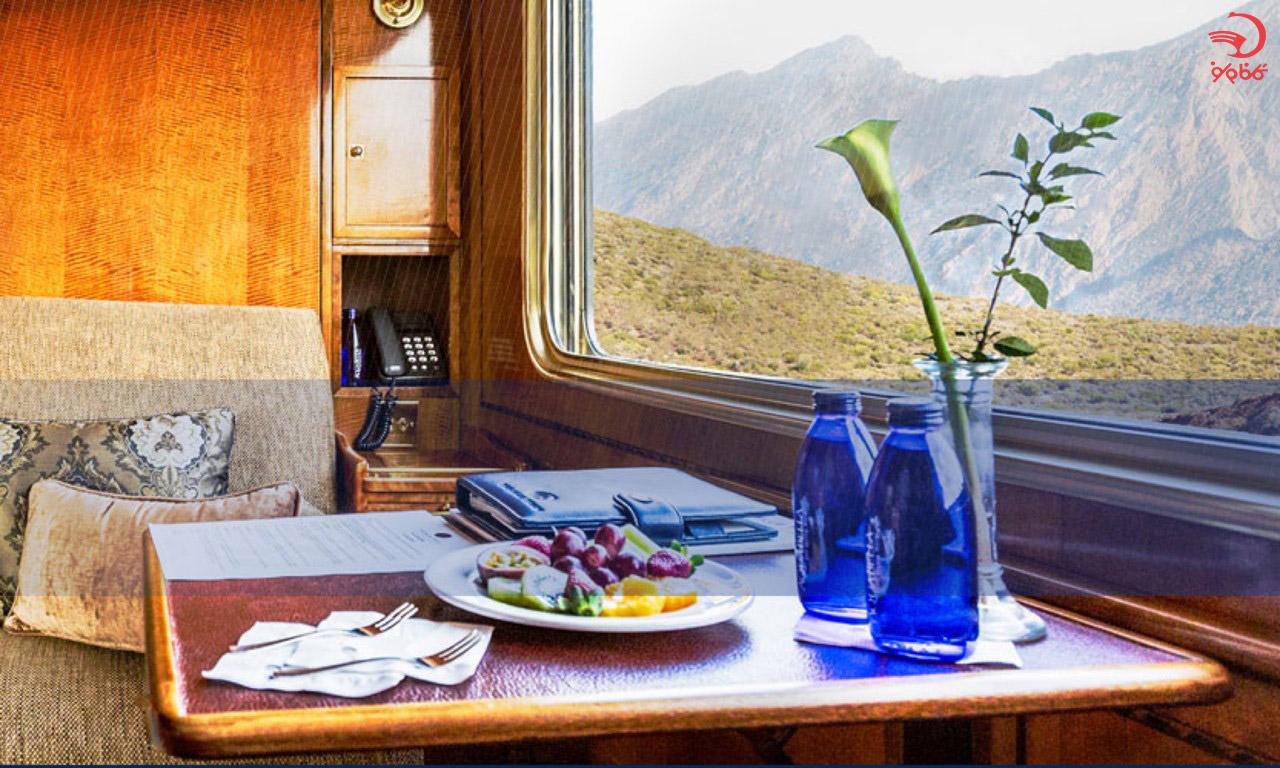 هتل قطار آبی