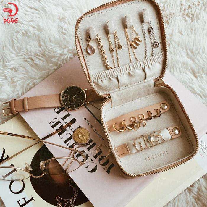 هدیه محفظه نگهداری جواهرات برای دوستداران سفر