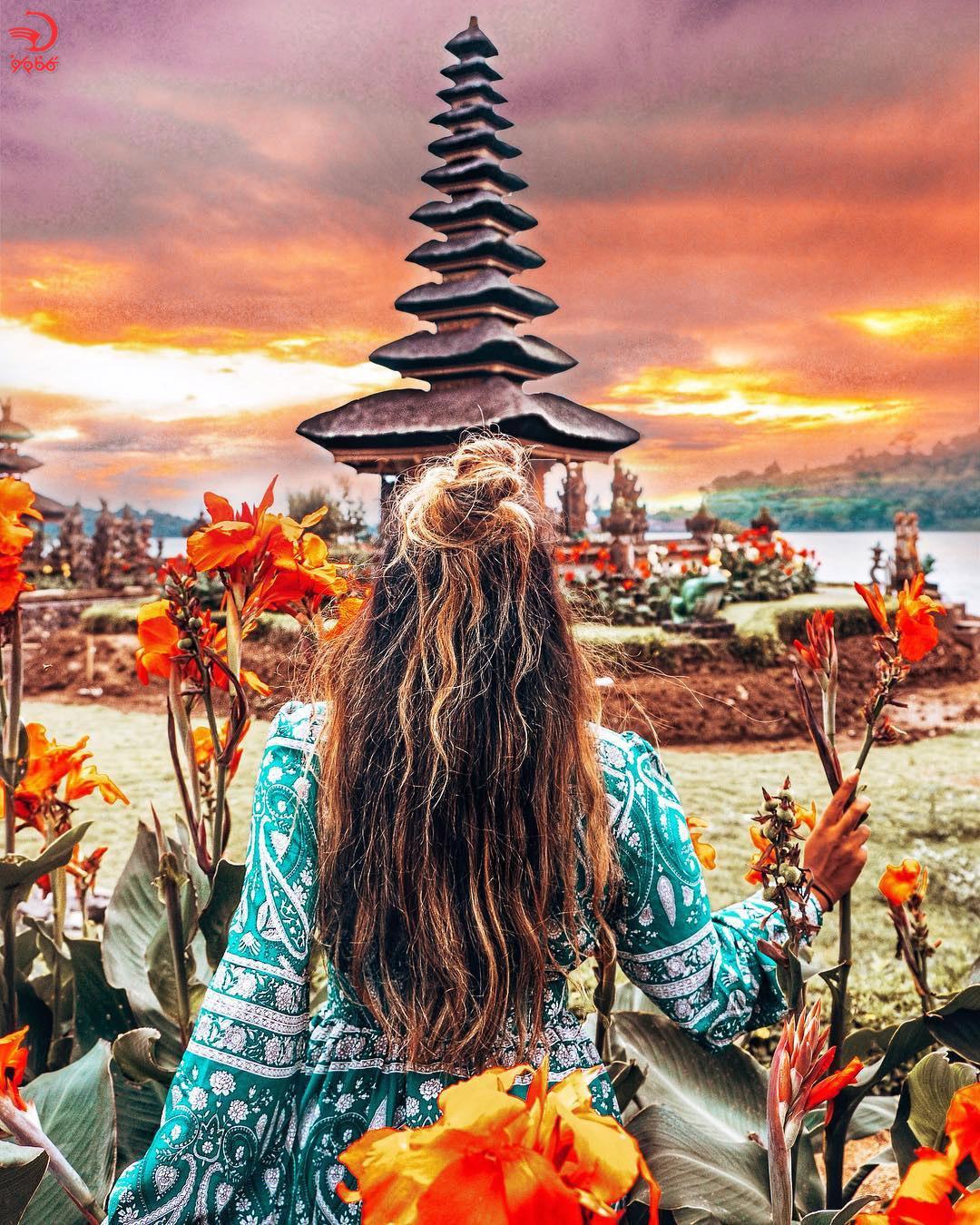 معبد اولون دانو براتان بالی