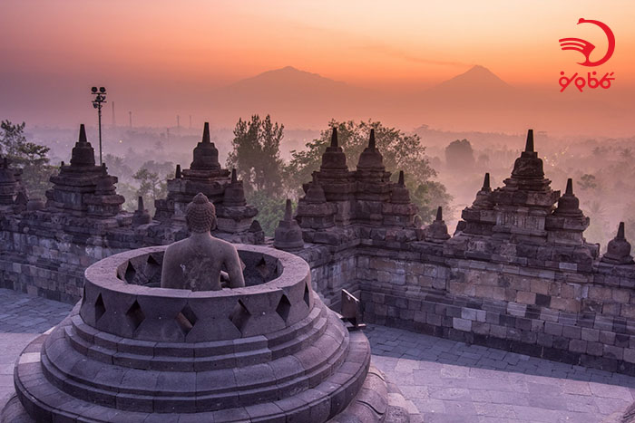 معبد بوروبودور، جاوه، اندونزی