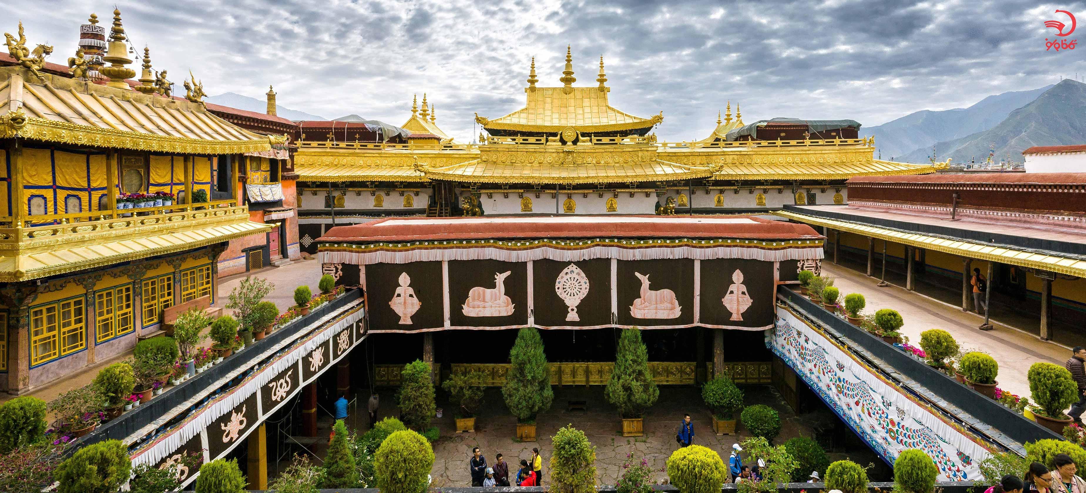 بازدید از معبد جومونگ