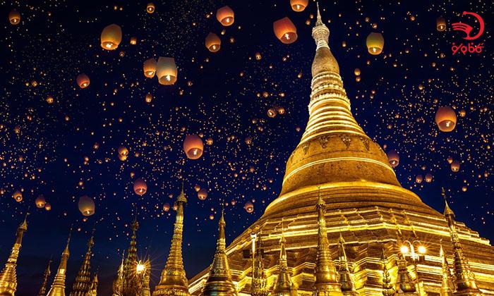 معبد طلایی شوداگون، یانگون، میانمار