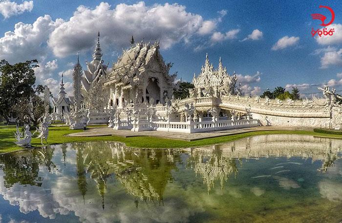معبد وات رانگ کان، شیانگ را، تایلند
