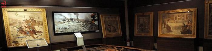 نمایشگاه آثار هنری ایران مال