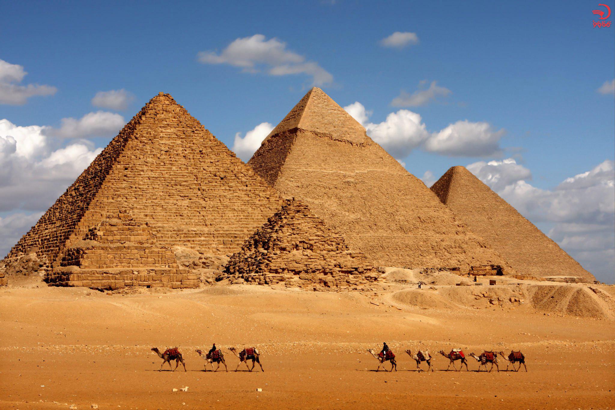 هرم بزرگ جیزه، مصر