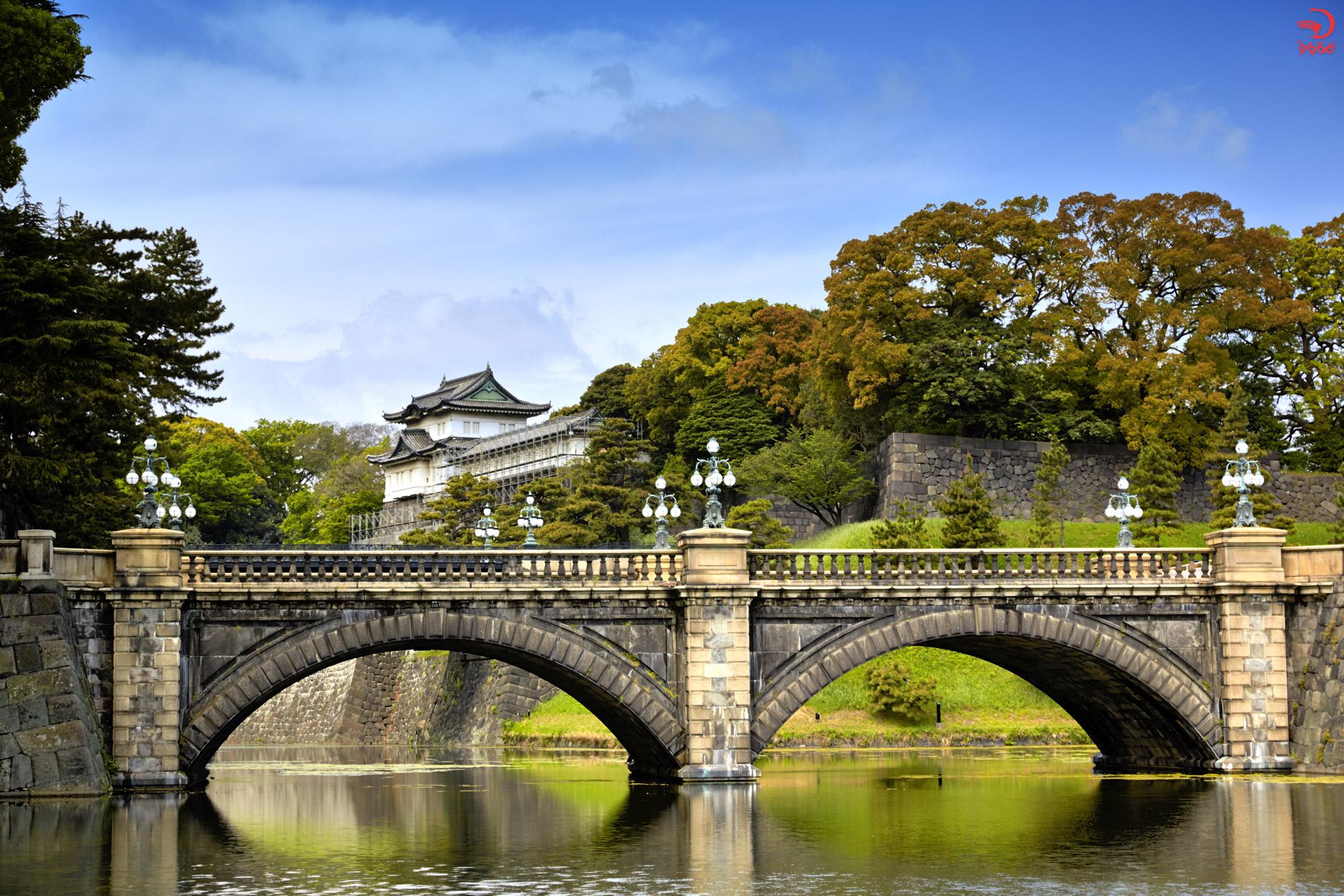 آشنایی با کاخ امپراتوری، توکیو