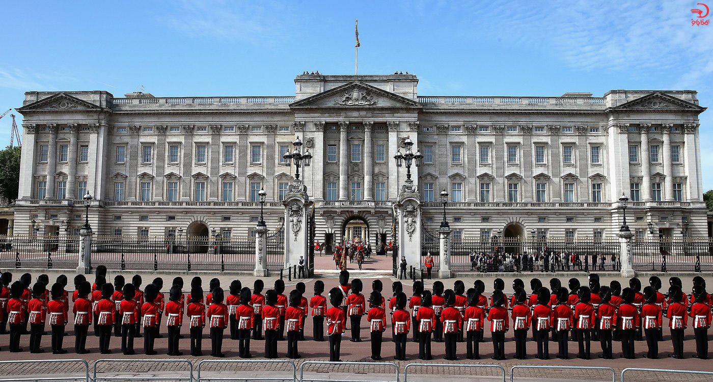 کاخ باکینگهام، لندن، انگلیس