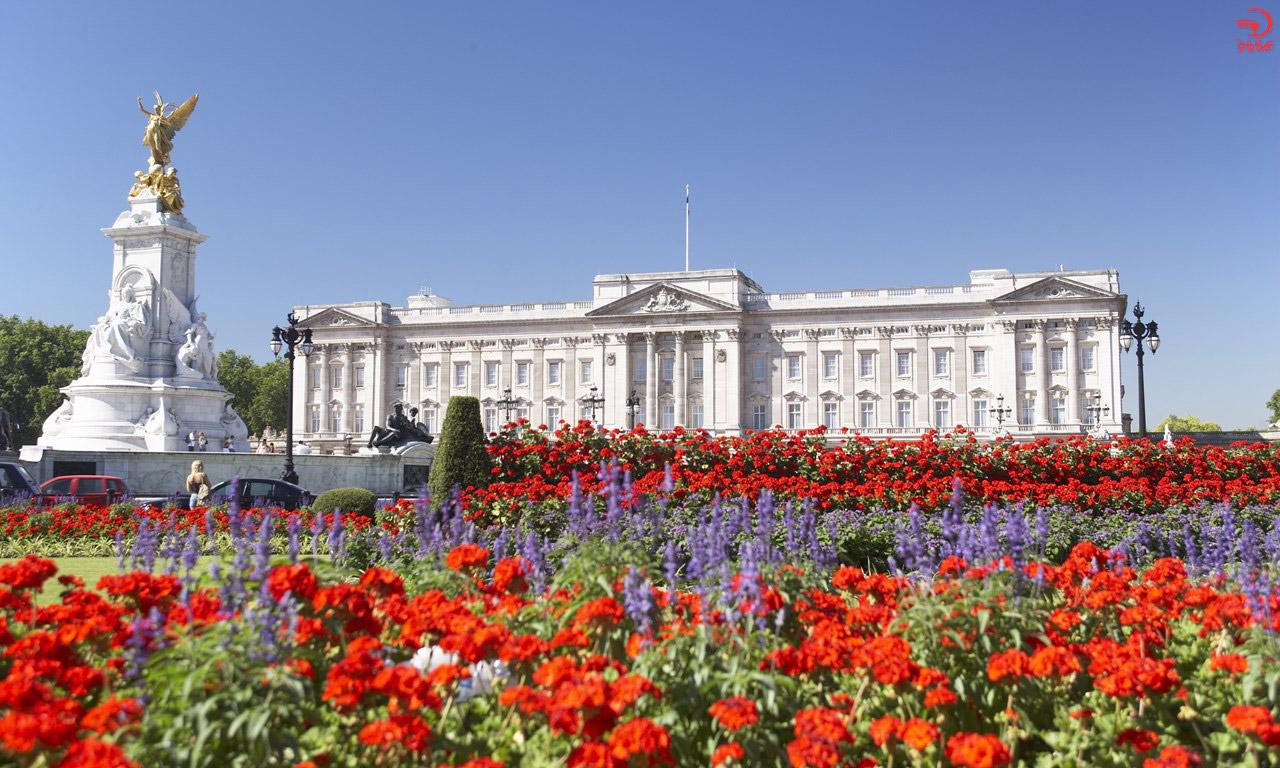 آشنایی با کاخ باکینگهام، لندن، انگلیس