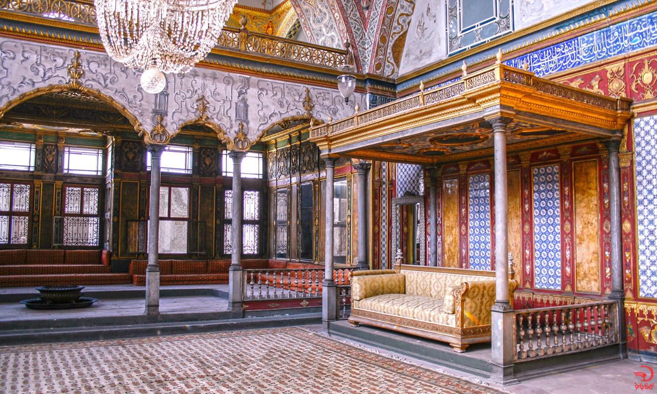 آشنایی با کاخ توپکاپی، استانبول، ترکیه