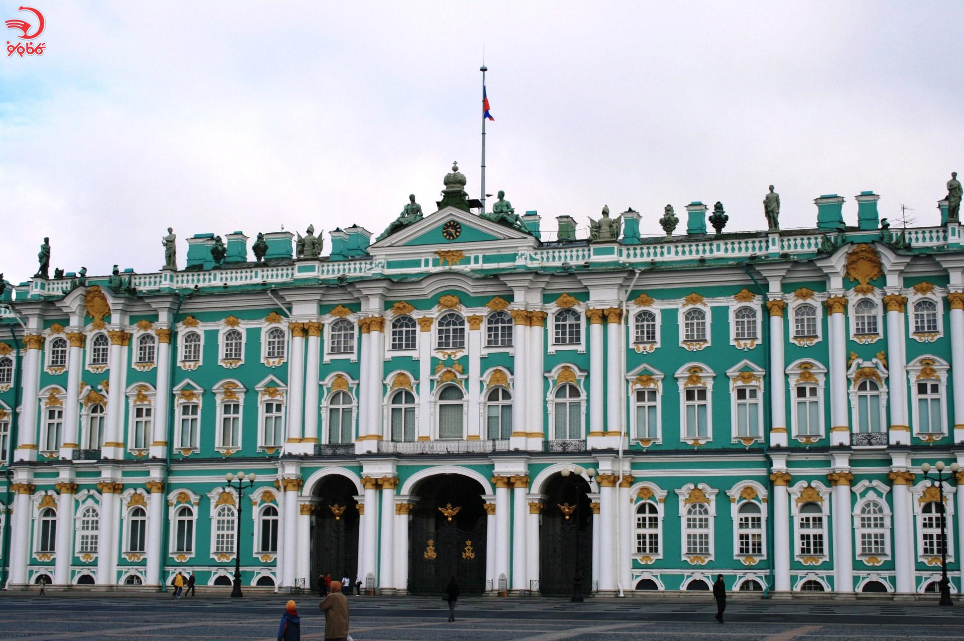 کاخ زمستانی، سنت پترزبورگ، روسیه