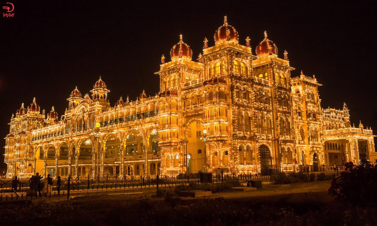 کاخ میسور، هند