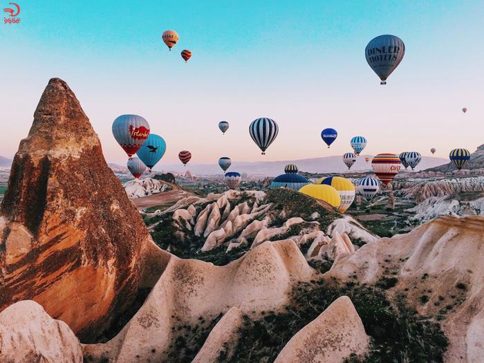 بالن سواری در کاپادوکیا، ترکیه