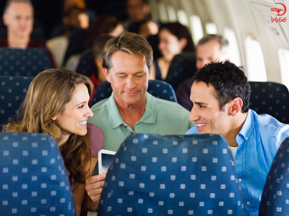 دانستنی های  معاشرت در هواپیما