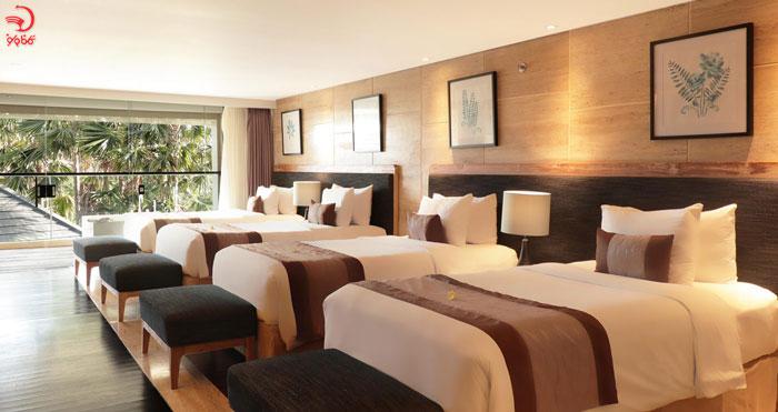 اتاق کوآد در هتل