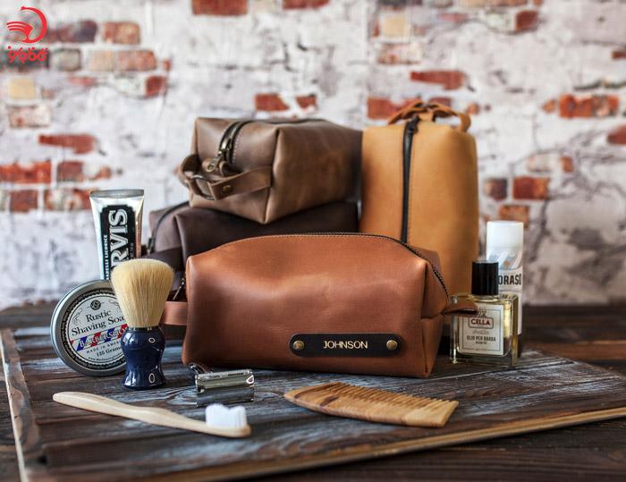 کیف چرمی لوازم بهداشتی