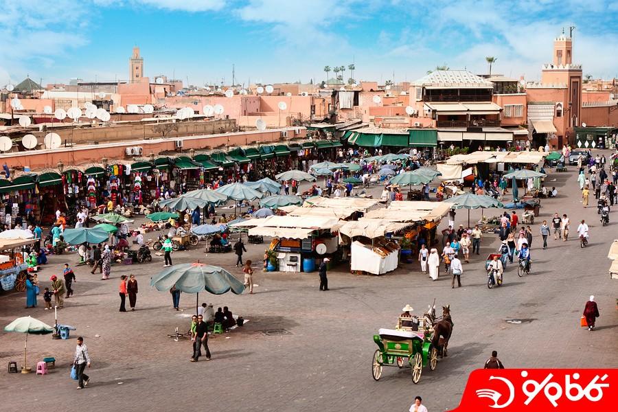 بازار سنتی مراکش