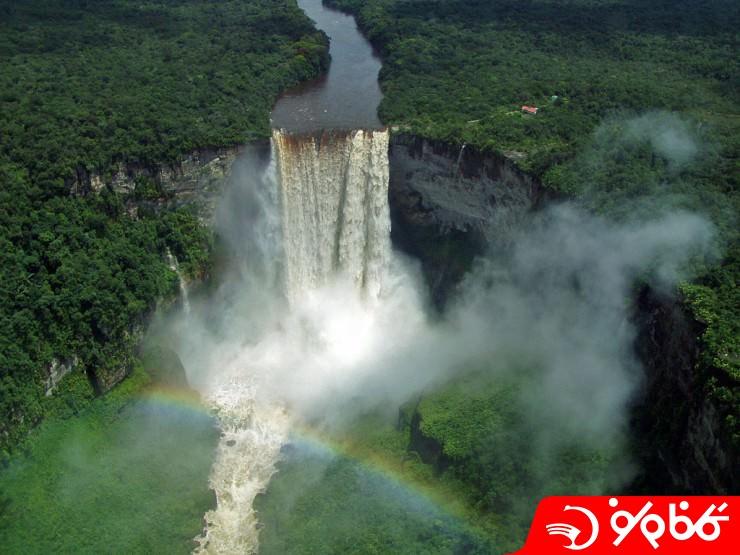 آبشار کایتور (Kaieteur)