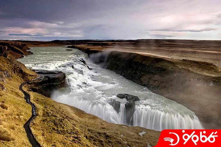 آبشار گلفوس (Gullfoss)