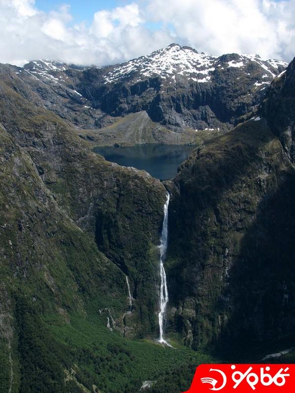 آبشار سادرلند (Sutherland)
