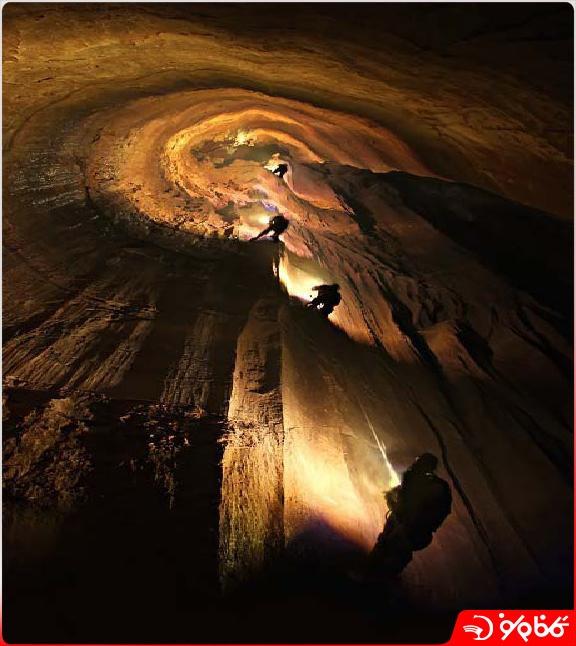 غار پرآو | عمیق ترین غار ایران