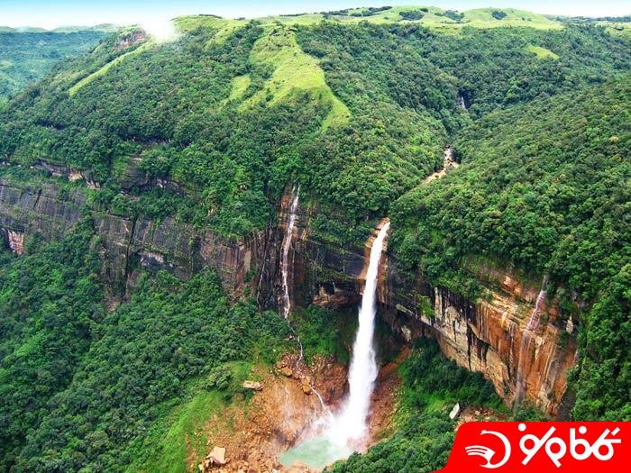 آبشار نوکالیکای (Nohkalikai)