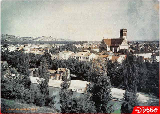 اولین عکس رنگی از منظره