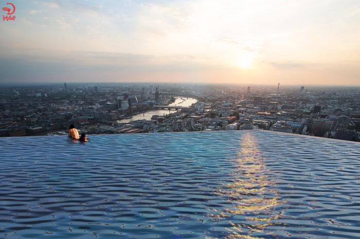 استخر 360 درجه لندن