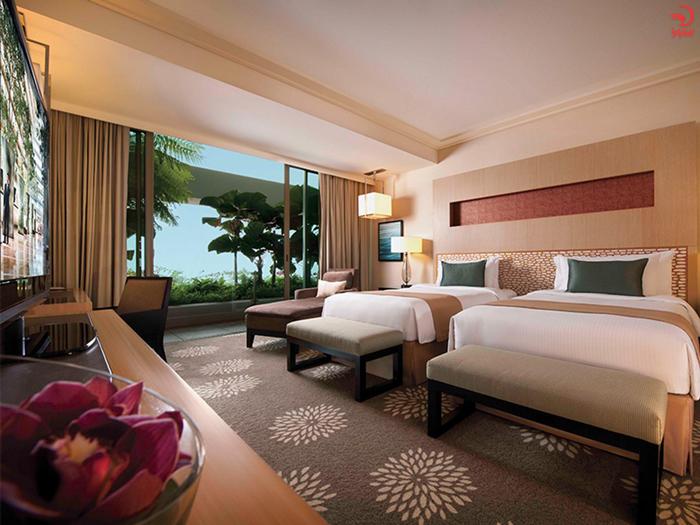 اتاق های هتل مارینا