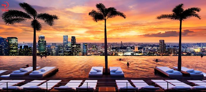 معماری برج مارینا سنگاپور